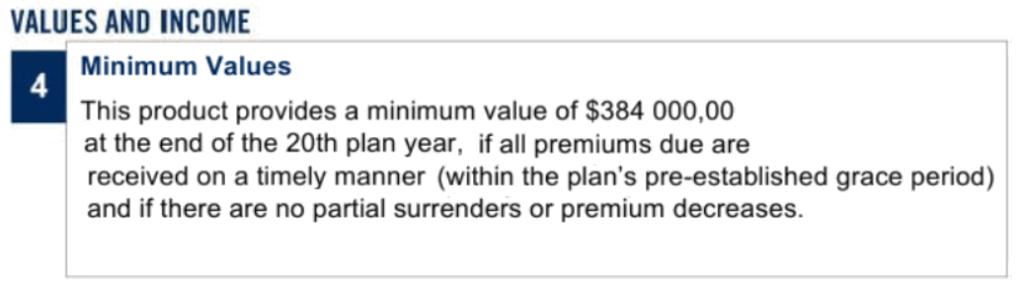 Сравнение Evolution и SP500 Investors Trust – при использовании плана SP500 человек имеет гарантии капитала